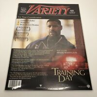 Variety Magazine Large 11x14 - Training Day - 2002