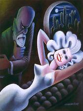 Art Imprimé Poster Peinture CARICATURE Harlow Freud Covarrubias nofl0908
