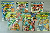 Marvel Comics 70's All Colour Two In One Comic Book Bundle The Thing No. 16 - 21