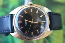 MEN'S VINTAGE GOLD-PLATED USSR MADE WOSTOK 17 JEWELS!