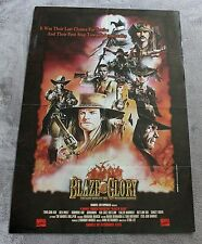 Blaze of Glory 1999 Ghost Rider Kid Colt Two Gun Rawhide Red Wolf PROMO Poster