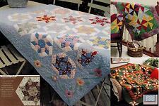 Spin Wheel  ,  Silk Pinwheels  ,  Wing Ding    Quilt  pattern only