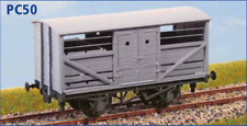 LNER 10T STANDARD bestiame Camion - Calibro di oo - Parkside PC50