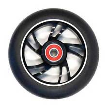 Scooter Wheel Alloy 110mm Abec 9 Bearing Black Core Suitable Razor Type Scooters