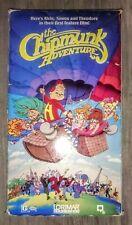The Chipmunk Adventure VHS 1987 Original RARE