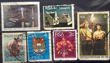 South Africa Used Stamps - 6 pcs Assorted Stamps