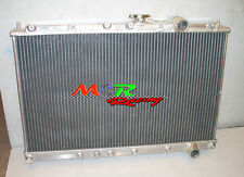 2 ROW Aluminum Radiator for Mitsubishi Lancer Evolution EVO 1 2 3 I II III New
