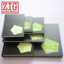 Mont Marte SketchBook Hardback BLACK cover German drawing paper 150gsm 50 Sheets