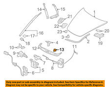 PORSCHE OEM 05-13 911 Hood-Front Cover Fastener 99990204940