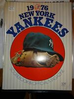 1976 New York Yankees Scorebook & Official Magazine Yankees vs Twins