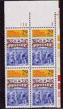 US USA Sc# 2616 MNH FVF PL# BLOCK Chicago Columbian Stamp Expo