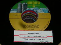 Five Stairsteps NORTHERN SOUL 45 You Dont Love Me / Com