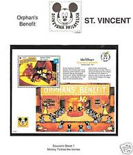 ST. VINCENT # 1801 DISNEY MICKEY'S ORPHAN'S BENEFIT