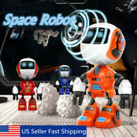 Electronic Robot Smart Action Singing Music Dance Space Walking Kids Toy Gifts