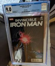 Invincible Iron Man 9 CGC 9.0 - First Riri Williams - Turcotte variant cover