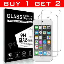 Tempered Glass Film Screen Protector For Apple iPod Touch 5 Premium