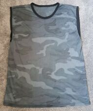 Mens Mesh Net Camo Camouflage Vest Free Delivery