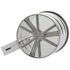 Stainless Steel Mesh Flour Sifter Powder Baking Icing Sugar Shaker Sieve Cup