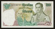 20 Baht  Serie 11 Sign. 51 Thailand 1971 UNC