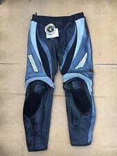 "TARGA Mens Race Leather Motorbike / Motorcycle Trousers UK 40"" Waist (LB6)  BNWT"