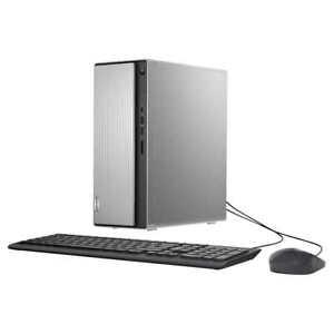 New Lenovo IdeaCentre 90Q3002SUS Desktop AMD Ryzen 5 4600G 12GB 1TB 256GB SSD