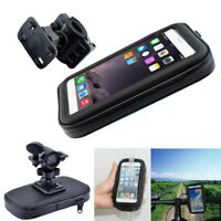 Bicycle Bike Handlebar Mount Holder Waterproof Cell Phone Case Cover Bag Pouch