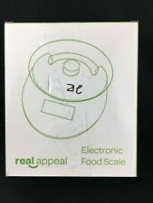 NEW Real Appeal Electronic Food Scale with Plastic Bowl - FREE Shipping!