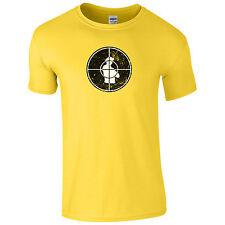 Central Intelligence Target T-Shirt - Worn Dwayne Johnson Inspired Gift Mens Top