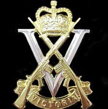 RARE AUSTRALIAN ROYAL VICTORIA REGIMENT INFANTRY RAR HAT CAP BADGE