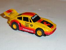 Tyco Porsche 911 Turbo #3 Diehard Ho Slot Car 440X2 Magnum Is Nos Condition