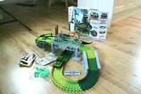 Flexible Car Track Set Dinosaur Game Set Fun Car Toy Create A Road Car Tracks