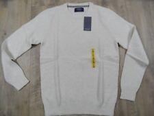 PULL&BEAR schöner BW Pullover creme Gr. S o. M NEU