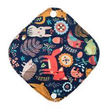 Extra Small Panty Liner Bamboo Charcoal Mama Cloth Menstrual Pad Deer Fox XS 7in