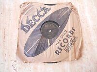 "78 RPM ""WE JUST COULDN'T SAY GOODBYE/BRIDE & GROOM POLKA"" ANDREWS SISTERS1948"