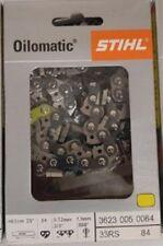 "Stihl 25"" Full Chisel Saw Chain 3623-005-0084 33RSC-84"