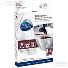 Decalcificante Care Protect Hoover 6 Bustine Macchine Caffè Bollitori Originale