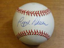Signed RYNE DUREN Baseball NY Yankees Angels Phils Bobby Brown American League