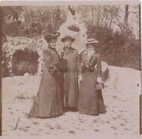 Viaggio IN Italia Modalità Cappello Foto Amateur Vintage Citrato Ca 1900 #5