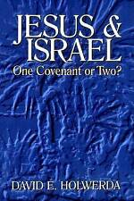 Jesus and Israel: Onve Covenant or Two? by David E. Holwerda (Paperback, 1995)
