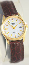 Casio LTP1183Q-7A Ladies Analog Watch Leather Band Date Display Quartz New