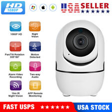 1080P WiFi IP Camera In/Outdoor Home Security Monitor Night Vision Waterproof HD