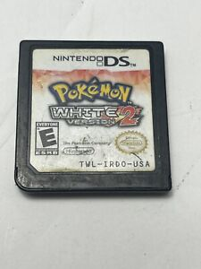 Authentic! Pokemon White 2 Nintendo DS Game Tested! Cartridge Only