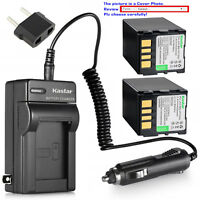 Kastar Battery AC Charger for JVC BN-VF733 & JVC GR-D347 GR-D347U GR-D347US