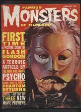Famous Monsters of Filmland  Magazine 10 ORIGINAL classic Gogos Phantom  cv
