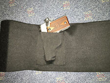 SMALL GUNS  ONLY!! Medium Tactical Adjustable Belly Band Holster & 2 Mag Pouches