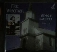 Mac Wiseman CD Sings Gospel Vol-1