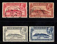 Gibraltar stamps #96 - 99, mint & used, SCV $30.50