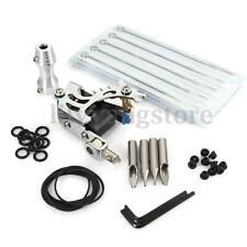 Pro Complete Tattoo Machine Kit Supply Power Needles Gun Grip Equipment Set