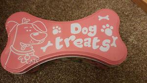 Dog Treat Tin Bone Shaped