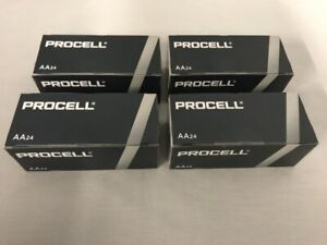 96 New AA Procell Alkaline Batteries by Duracell PC1500 EXP 2026 or Later
